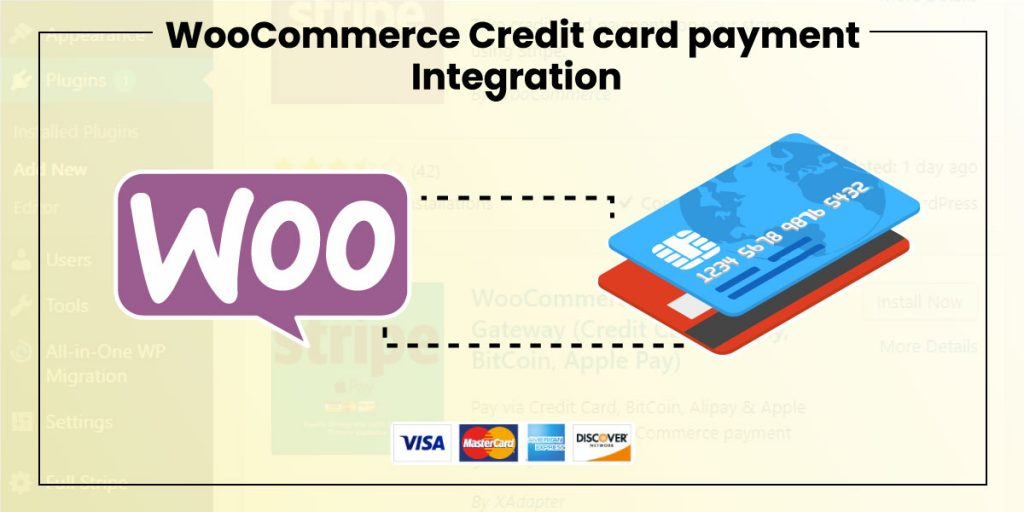 Woocommerce CreditCard Payment Integration