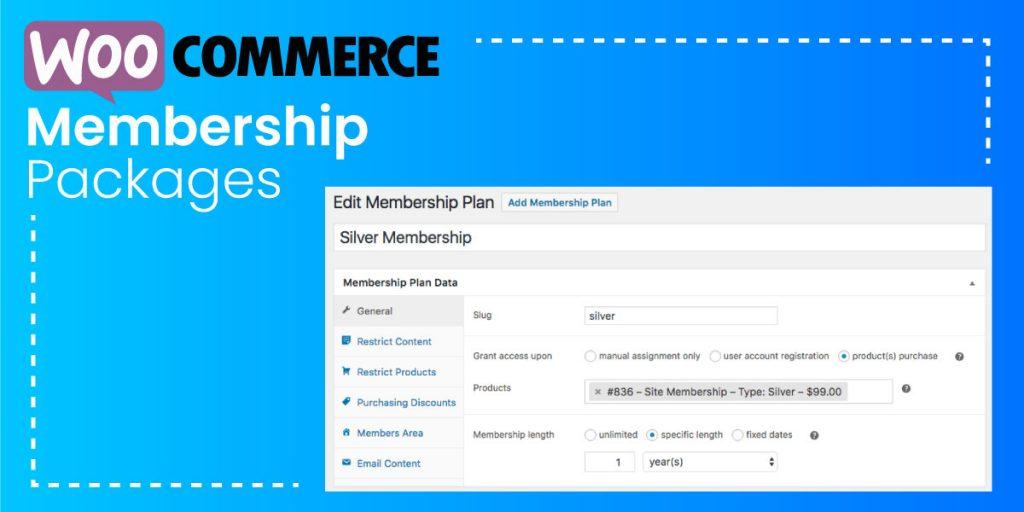 WooCommerce Membership Packages