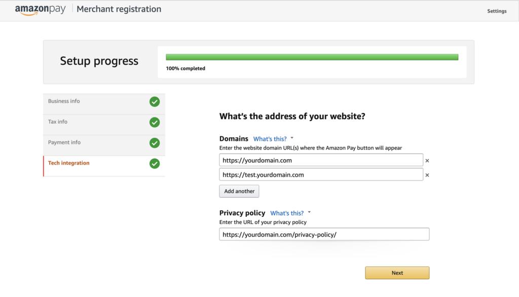 Maechant Registration