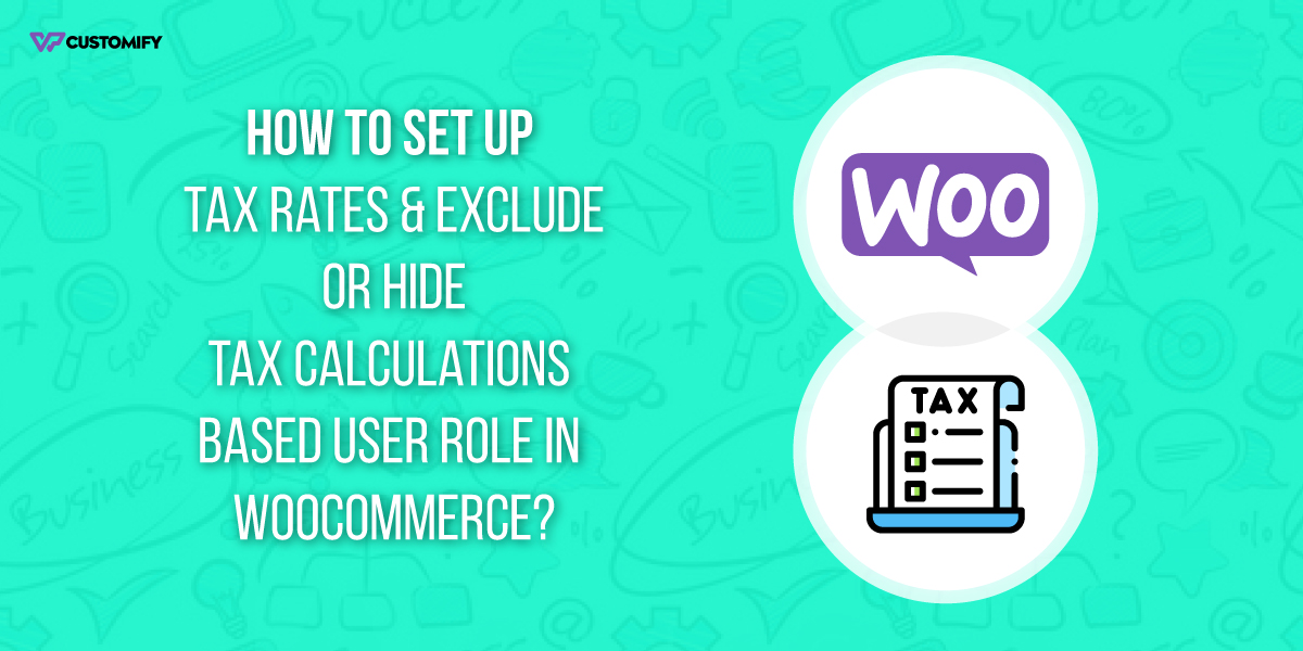 Set up Tax rates & Exclude or Hide Tax Calculations
