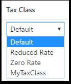 Tax Class