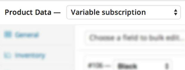 Variable Subscriptions