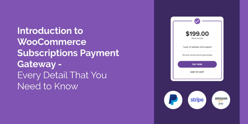 WooCommerce Subscriptions Payment Gateway