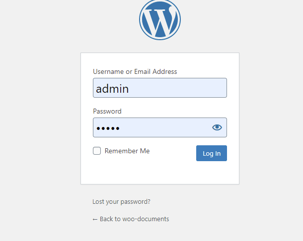 Wordpress Account